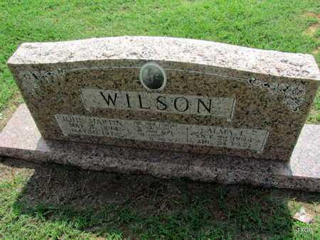WILSON, ALMA LORENA - Wilbarger County, Texas | ALMA LORENA WILSON - Texas Gravestone Photos