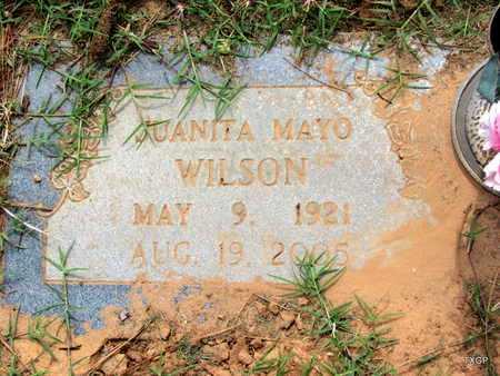 WILSON, JUANITA - Wilbarger County, Texas | JUANITA WILSON - Texas Gravestone Photos