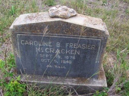 MCCRACKEN, CAROLINE B. - Wilson County, Texas | CAROLINE B. MCCRACKEN - Texas Gravestone Photos
