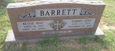 BARRETT, BESSIE MAE  - Wise County, Texas | BESSIE MAE  BARRETT - Texas Gravestone Photos