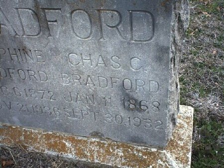 BRADFORD, CHARLES CALVIN - Wise County, Texas | CHARLES CALVIN BRADFORD - Texas Gravestone Photos