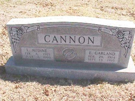 CANNON, EDGAR GARLAND - Wise County, Texas | EDGAR GARLAND CANNON - Texas Gravestone Photos