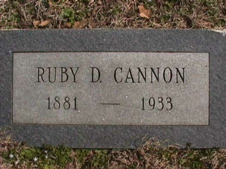 OWENS CANNON, RUBY DORA - Wise County, Texas | RUBY DORA OWENS CANNON - Texas Gravestone Photos