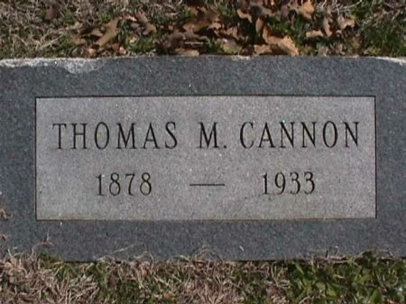 CANNON, THOMAS M. - Wise County, Texas | THOMAS M. CANNON - Texas Gravestone Photos