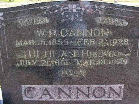 STRANGE CANNON, TULULA TENNESSEE - Wise County, Texas | TULULA TENNESSEE STRANGE CANNON - Texas Gravestone Photos