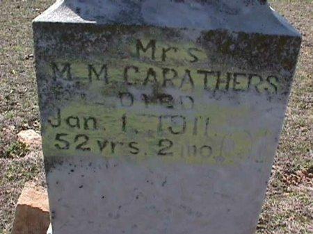 CARATHERS, MELVINA MELINDA - Wise County, Texas | MELVINA MELINDA CARATHERS - Texas Gravestone Photos