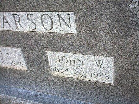 CARSON, JOHN WESLEY - Wise County, Texas   JOHN WESLEY CARSON - Texas Gravestone Photos