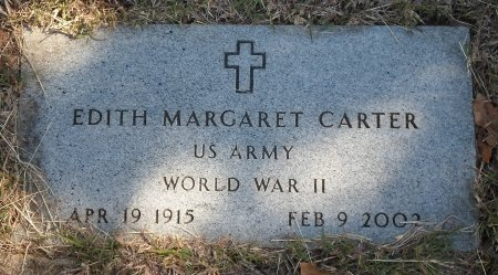 CARTER, EDITH MARGARET - Wise County, Texas | EDITH MARGARET CARTER - Texas Gravestone Photos