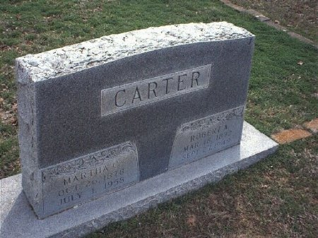 "NEWSOM CARTER, MARTHA CAROLINE ""MATTIE"" - Wise County, Texas 