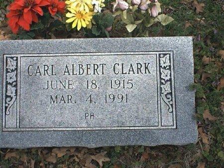 CLARK, CARL ALBERT - Wise County, Texas | CARL ALBERT CLARK - Texas Gravestone Photos