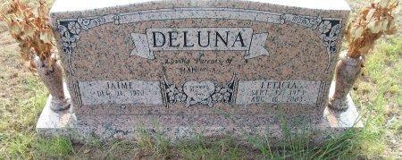 DELUNA, LETICIA - Wise County, Texas | LETICIA DELUNA - Texas Gravestone Photos