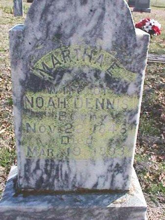 LAWSON DENNIS, MARTHA EMMA - Wise County, Texas | MARTHA EMMA LAWSON DENNIS - Texas Gravestone Photos