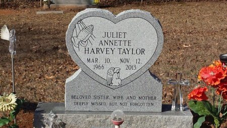 HARVEY TAYLOR, JULIET ANNETTE - Wood County, Texas | JULIET ANNETTE HARVEY TAYLOR - Texas Gravestone Photos