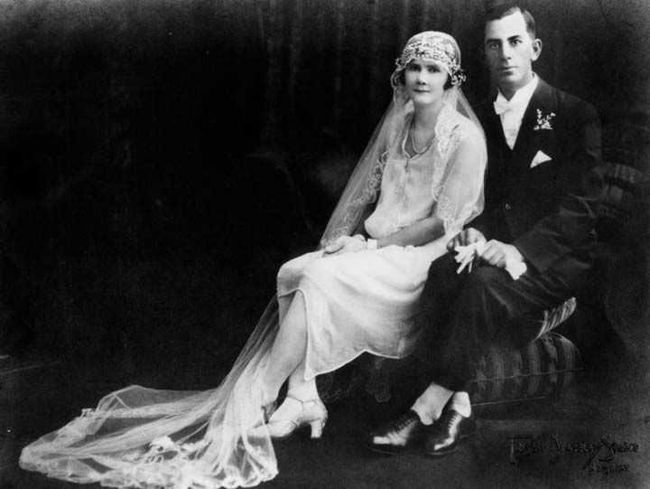 Iconic Weddings 1920s fashion