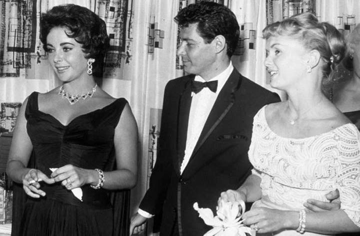 Elizabeth Taylor Eddie Fisher Debbie Reynolds