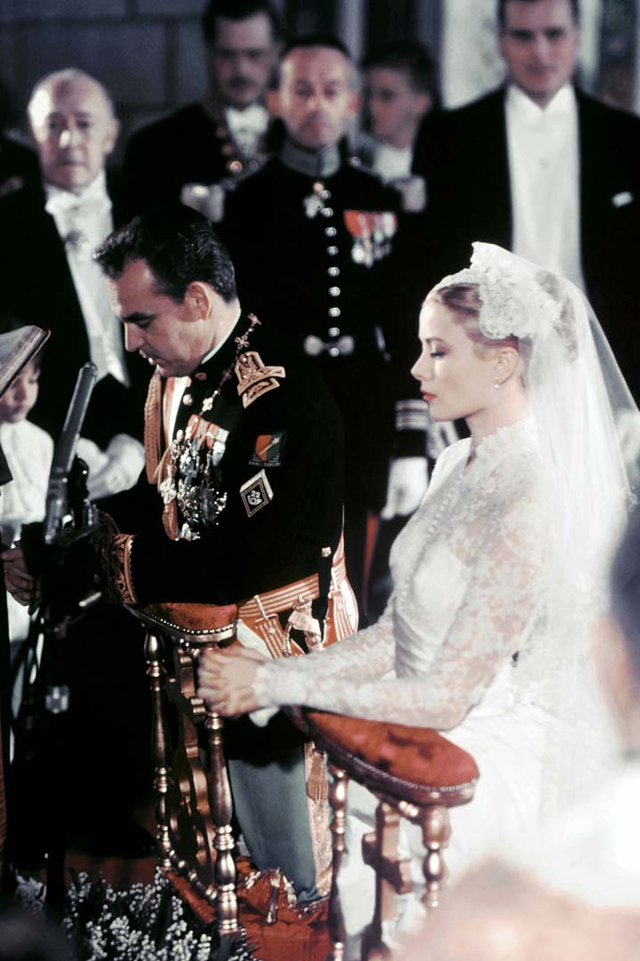 Iconic wedding dresses: Grace Kelly ceremony