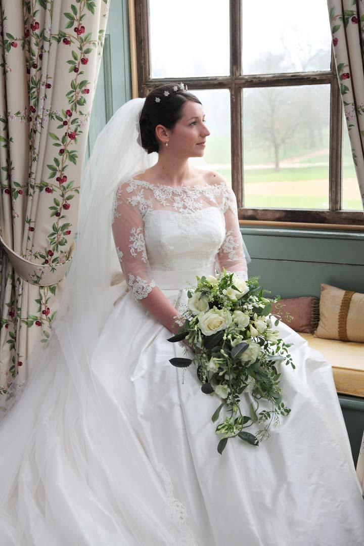 Iconic wedding dresses: Grace Kelly shoes