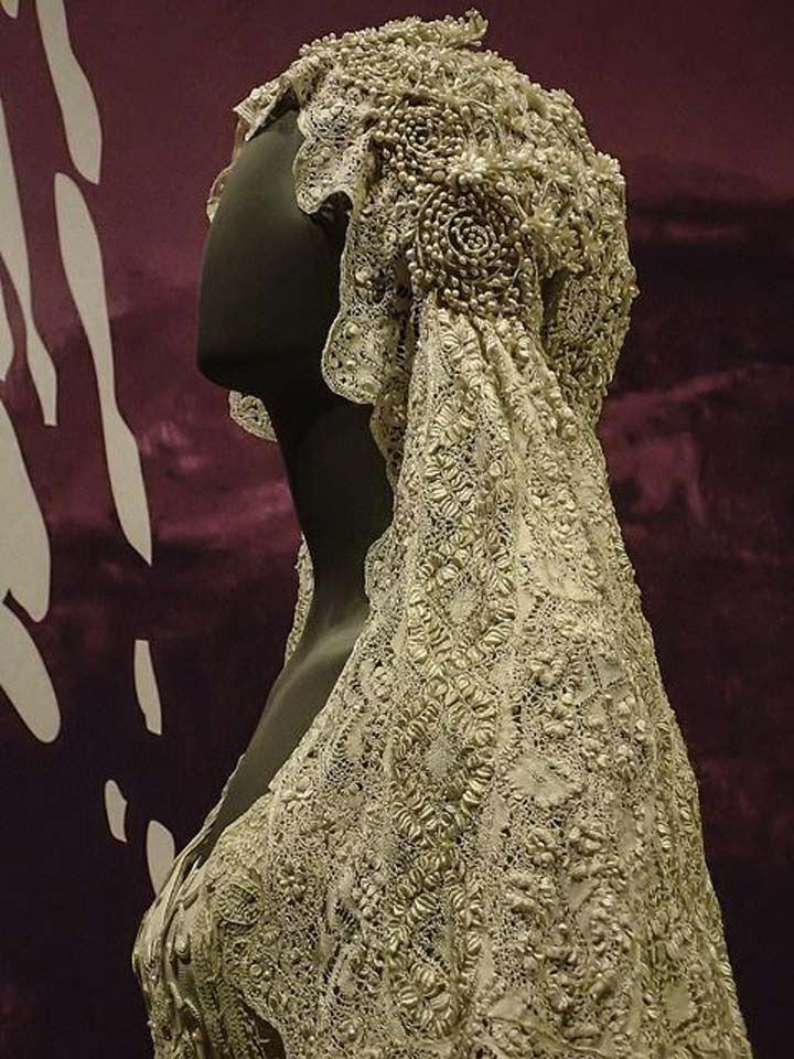 Star Wars wedding Padmé's veil