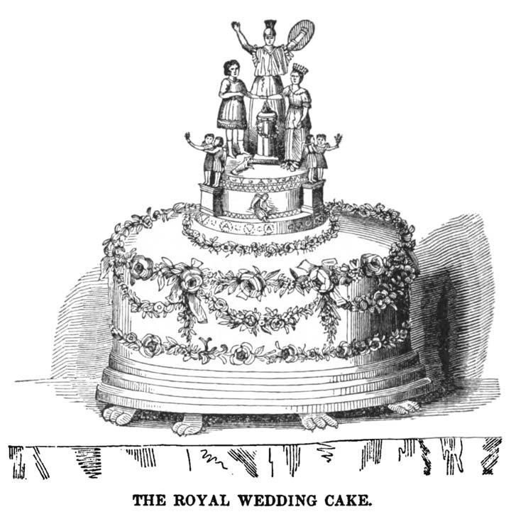Queen Victoria's wedding cake