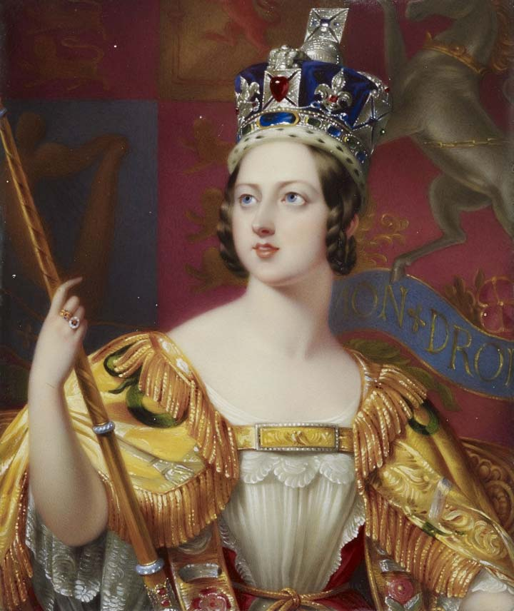 Queen Victoria, Empress of India and Queen of the Empire