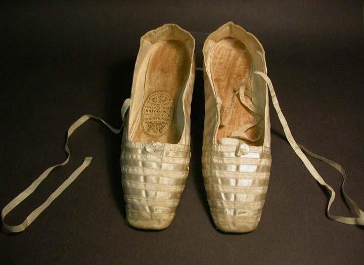 Queen Victoria's wedding slippers