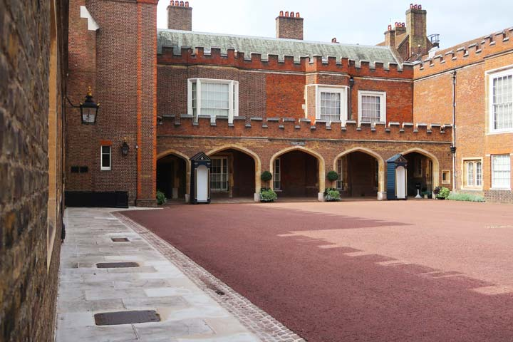 St James's Palace, where Queen Victoria married
