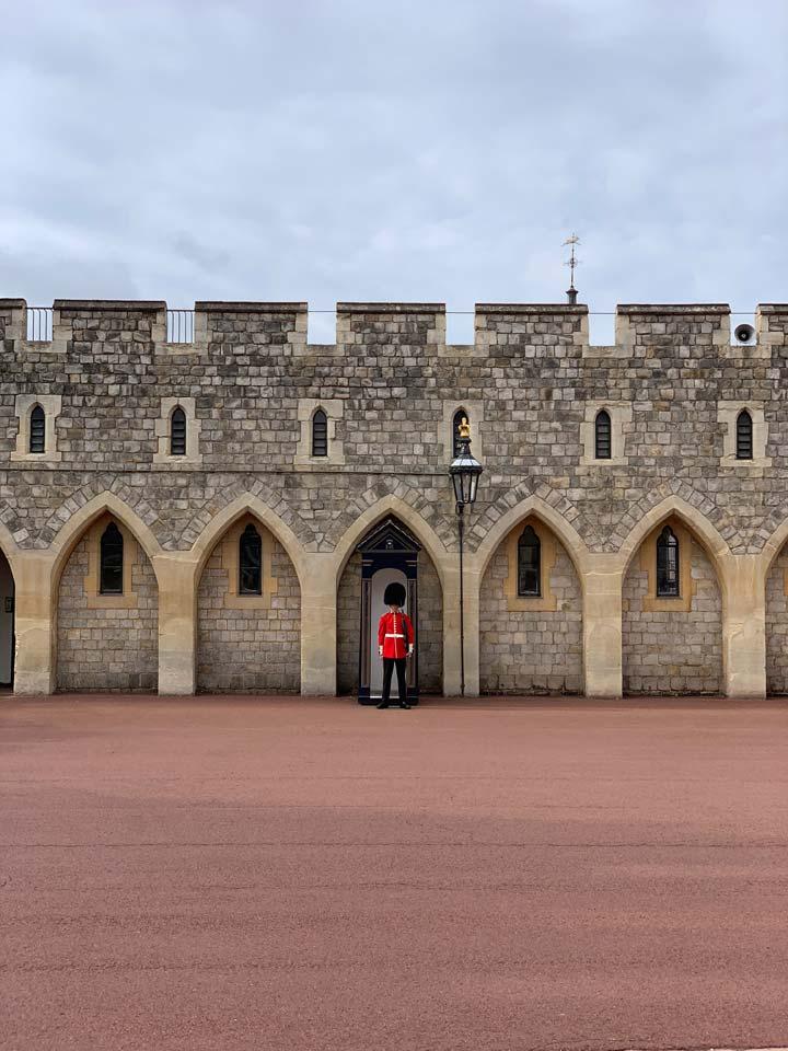 Queen Victoria had her honeymoon here, at Windsor castle