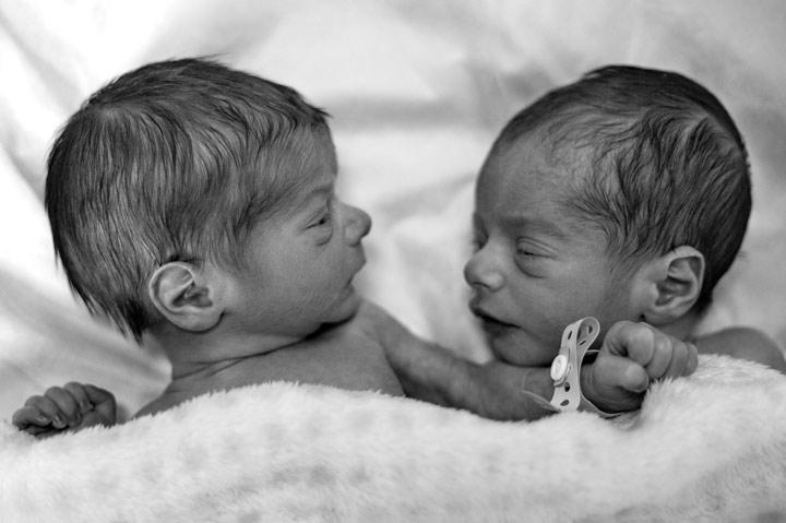 Twins who marry twins