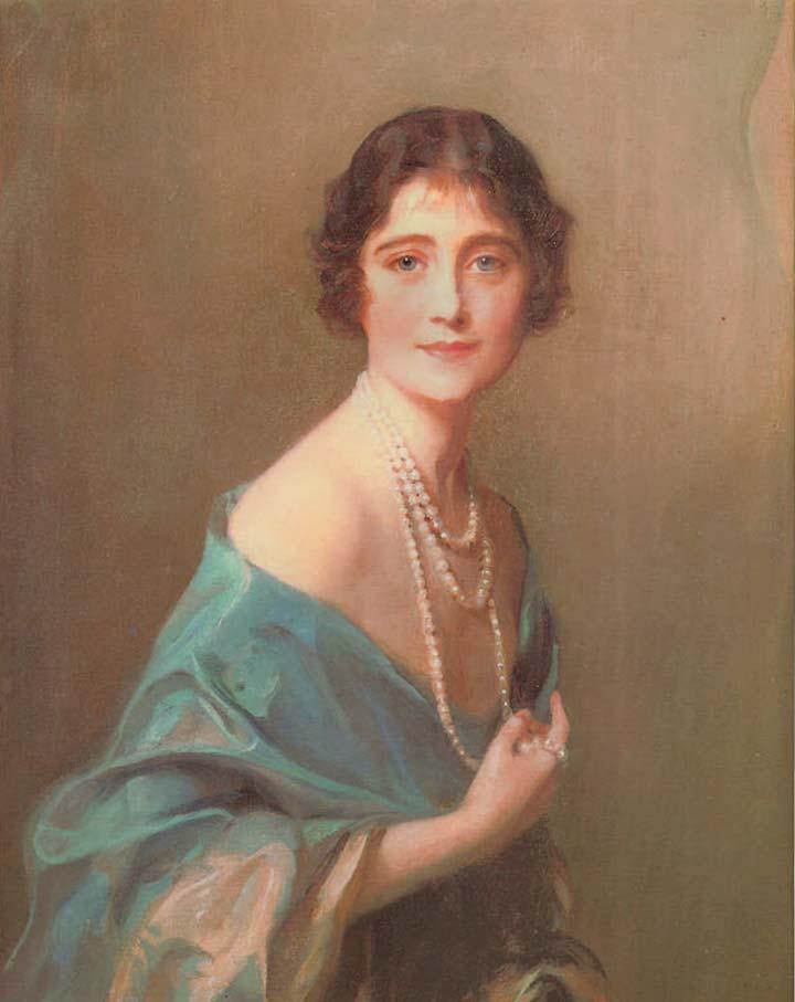 Young Elizabeth Bowes-Lyon. Royal wedding