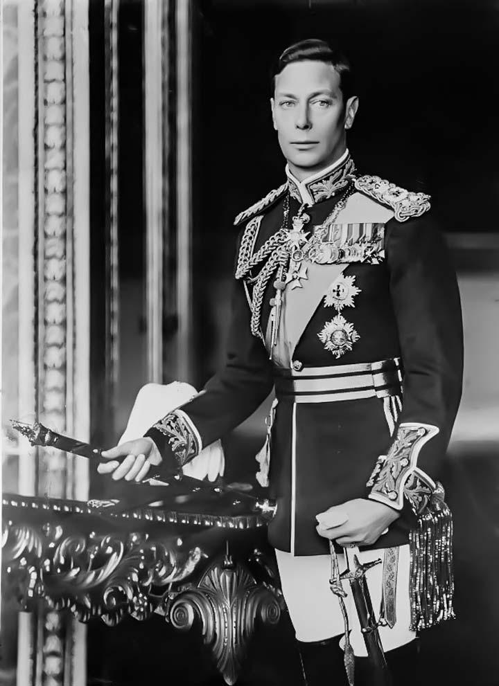 """""""Bertie"""", King George VI. Royal wedding"""