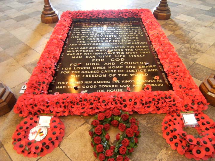 The Tomb of the Unknown Warrior. Royal wedding