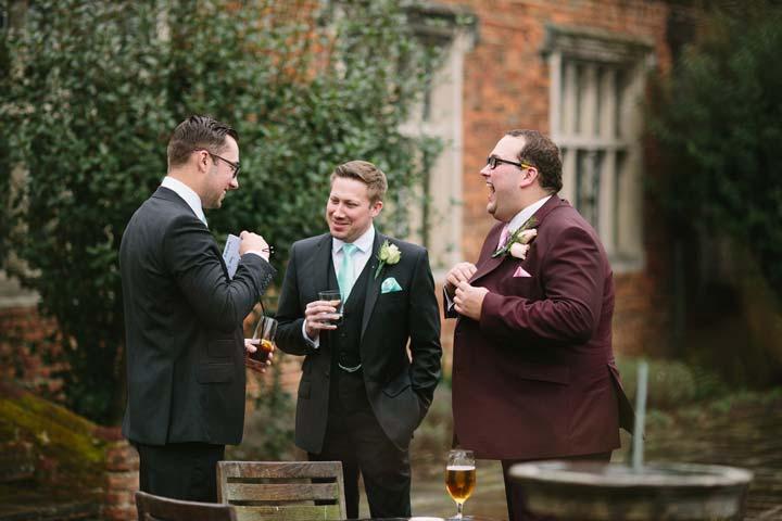 Socialising in weddings