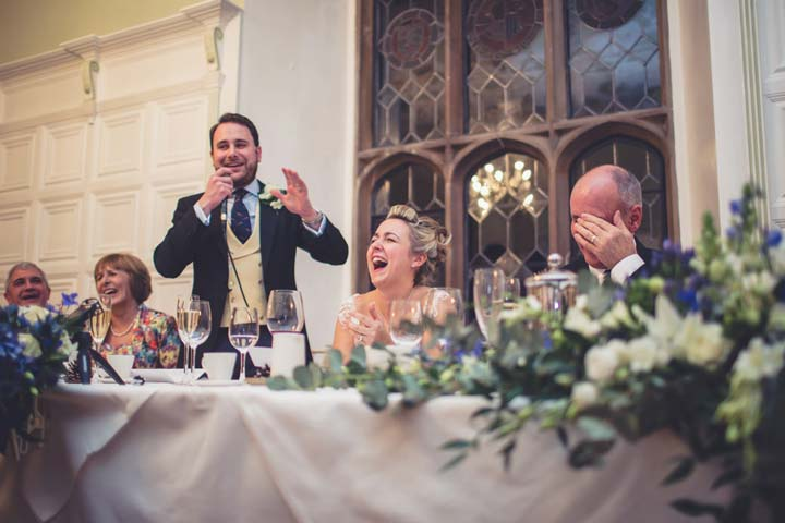 Groom's Speech - photo by Him and Her