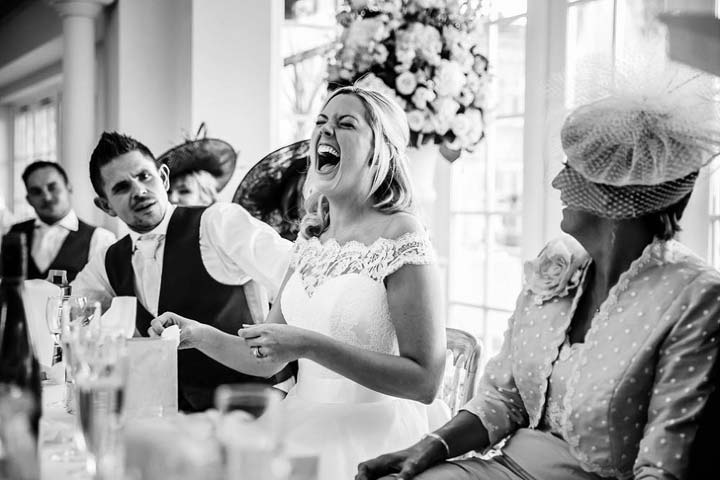 Groom's Speech - photo by Tansley Photography