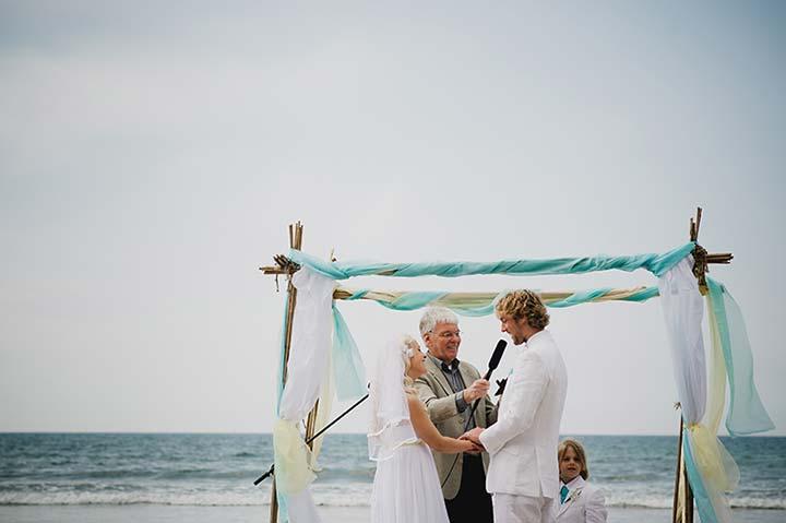 civil wedding ceremony