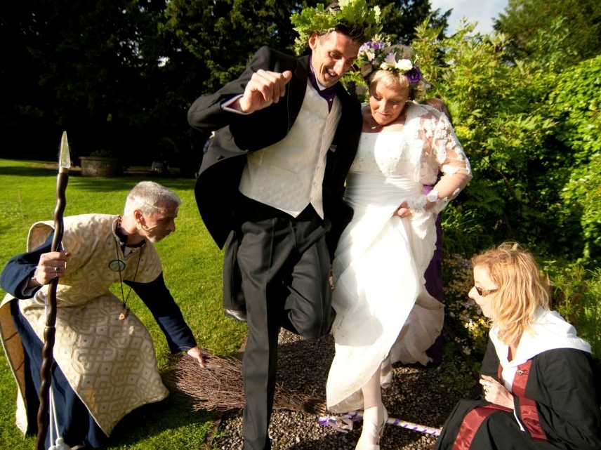 Handfasting and pagan wedding ceremonies an alternative jumping the besom broom junglespirit