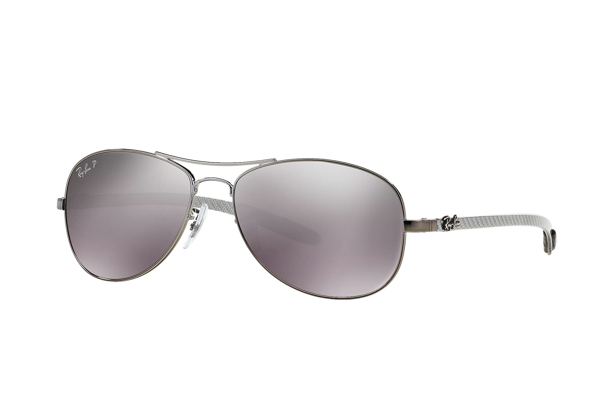 5ccfb963502922 Details about Ray-Ban RB8301 004 N8 Ray-Ban Monel Aviator Polarized  Gunmetal Sunglasses