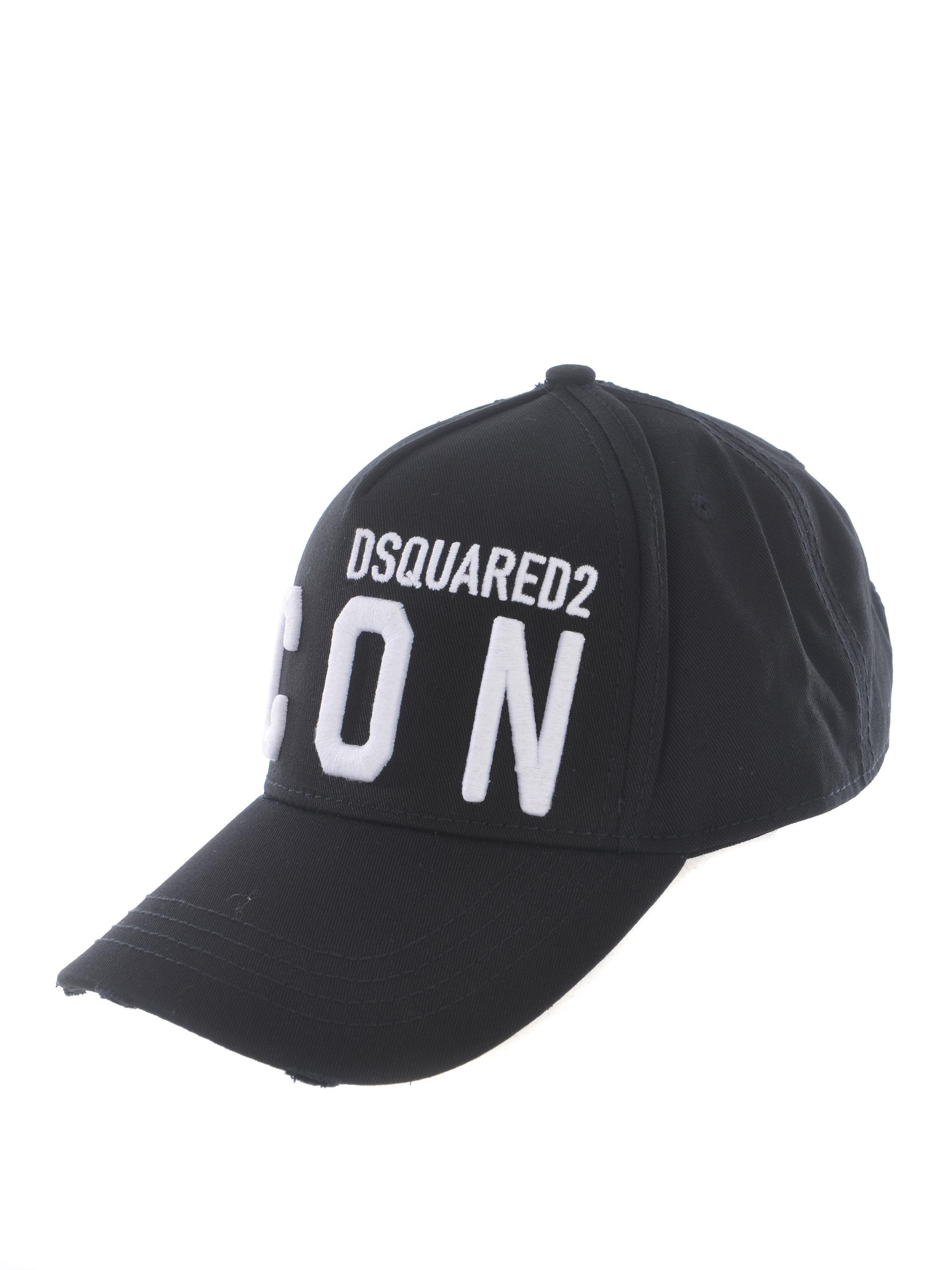 Cappello Dsquared2 in cotone DSQUARED | 26 | BCM041205C00001-M063