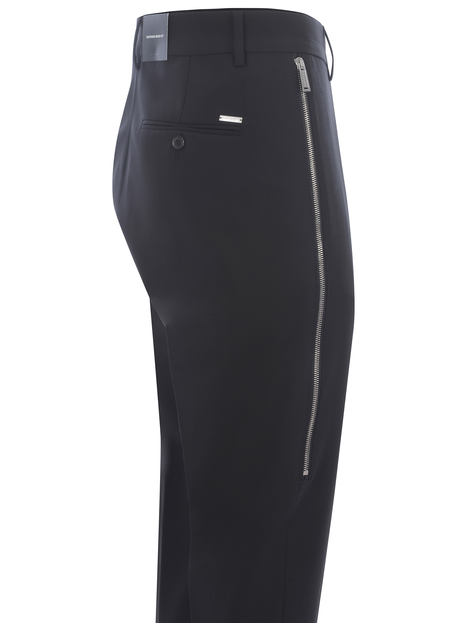 Pantaloni Dsquared2 Tappered Brad Fit in cotone DSQUARED   9   S74KB0595S40320-900