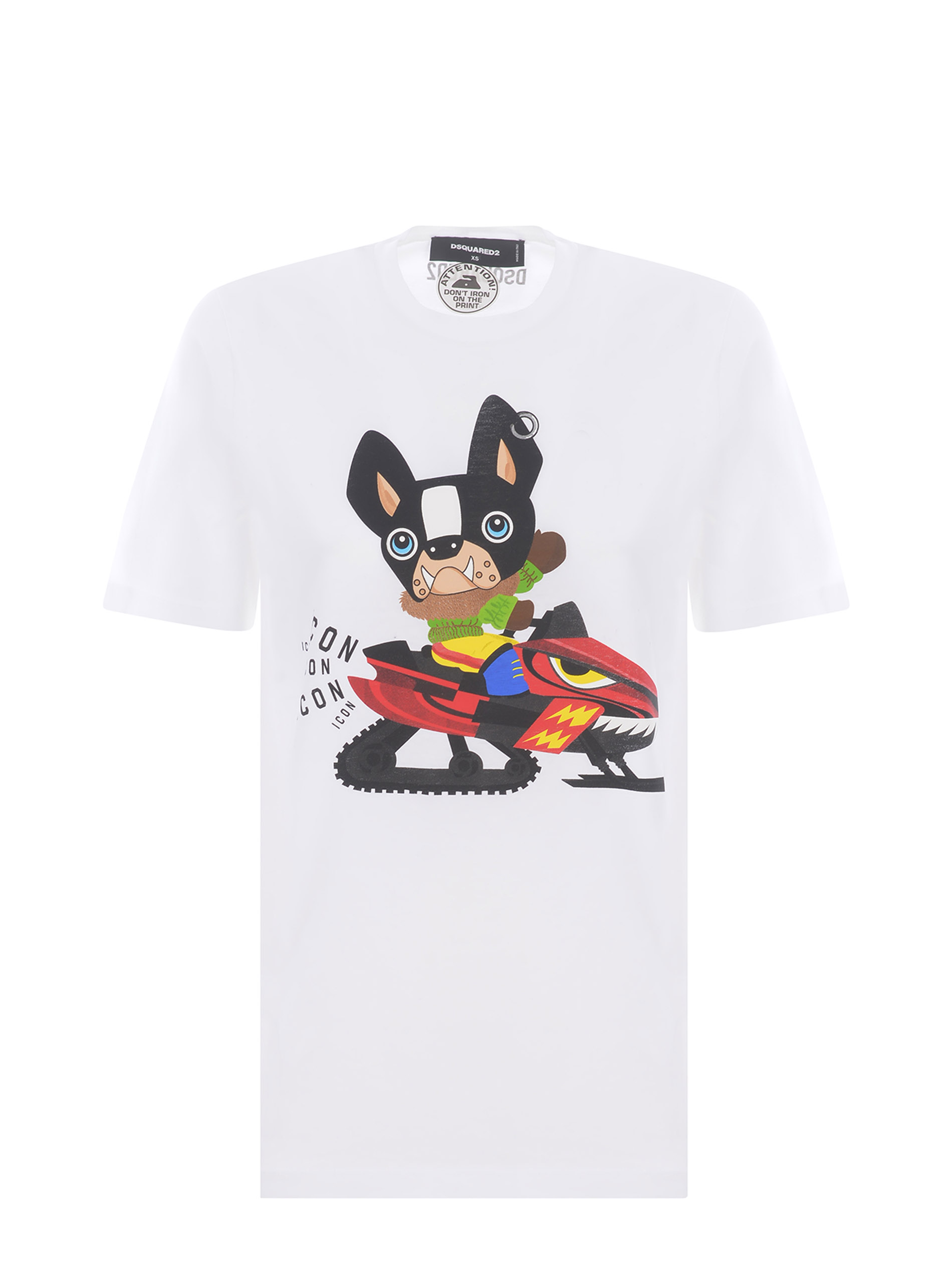 T-shirt Dsquared2 in cotone DSQUARED   8   S80GC0031S23009-100