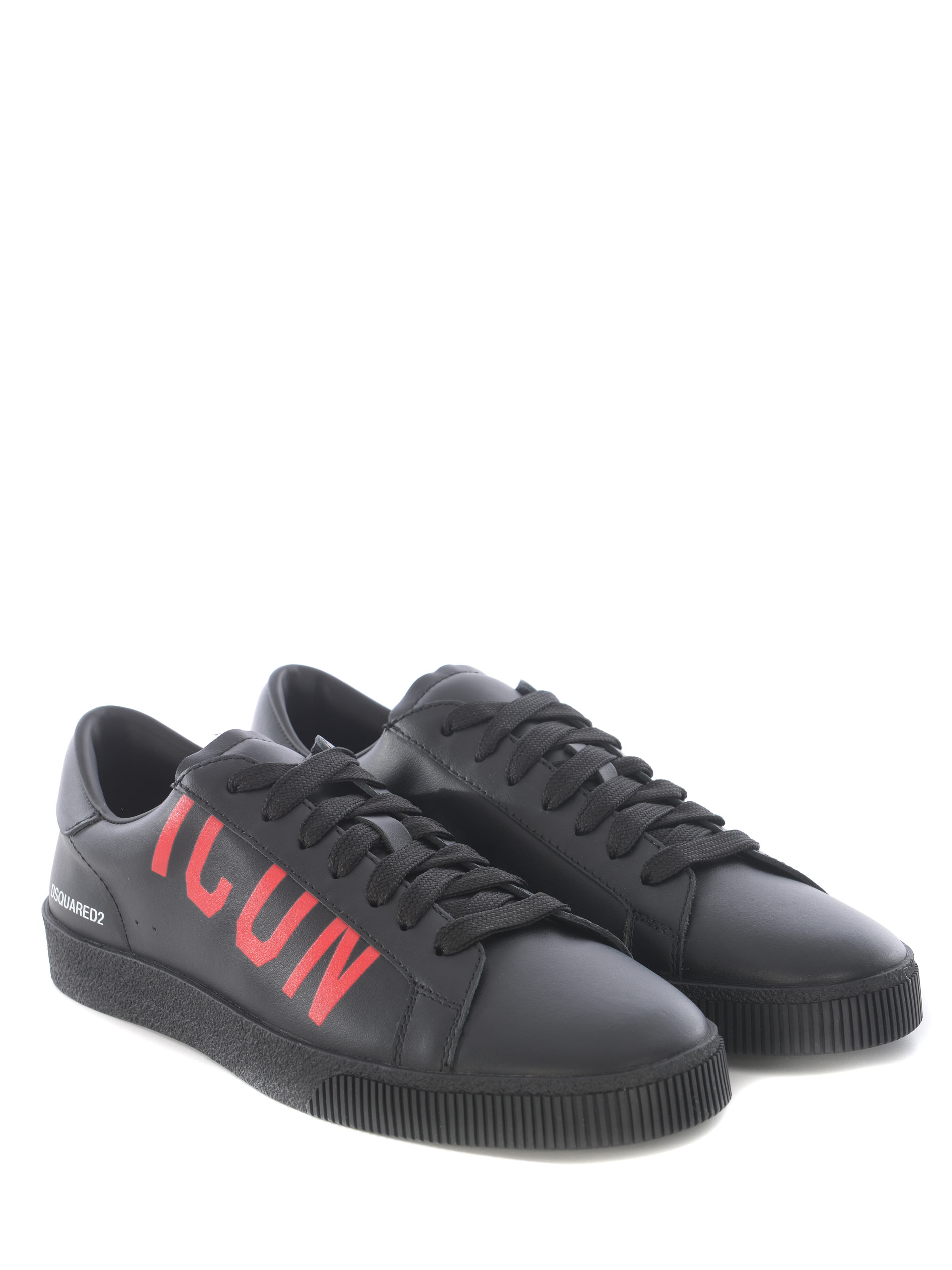 Snakers Dsquared2 Icon in pelle DSQUARED | 5032245 | SNM018801500001-M002
