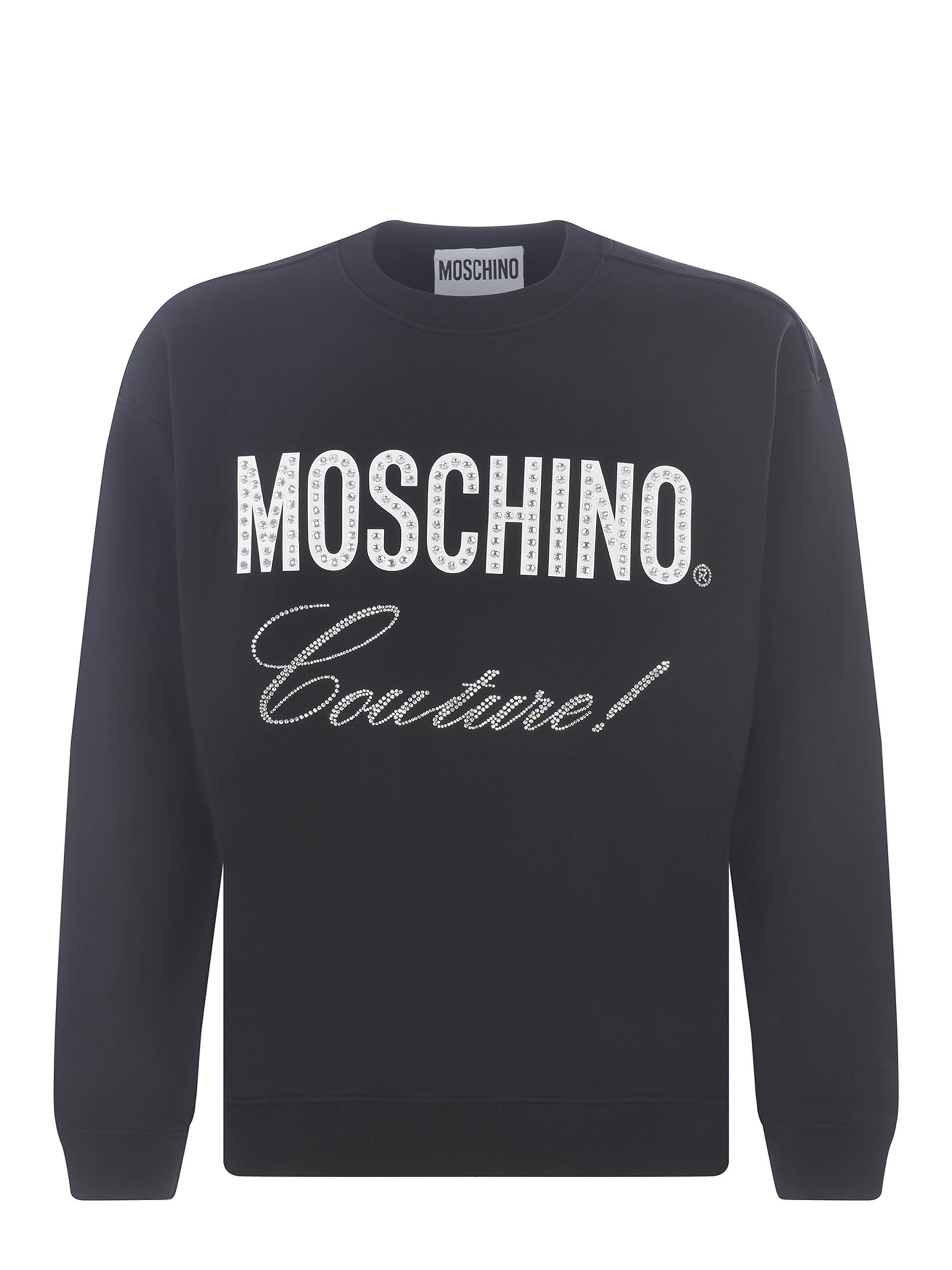 Felpa Moschino Couture in cotone MOSCHINO | 10000005 | A17017027-1555