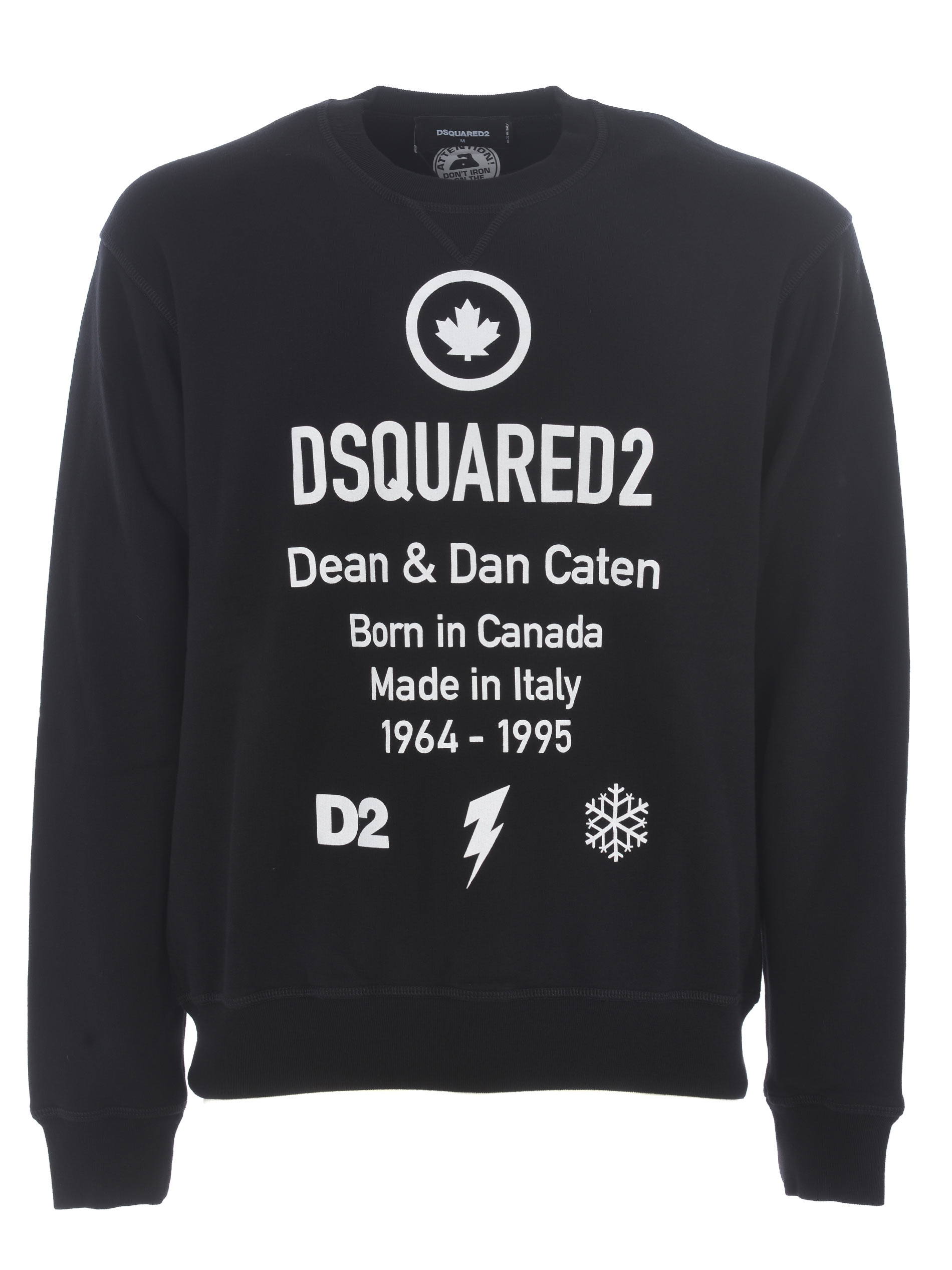 Dsquared2 sweatshirt in cotton.