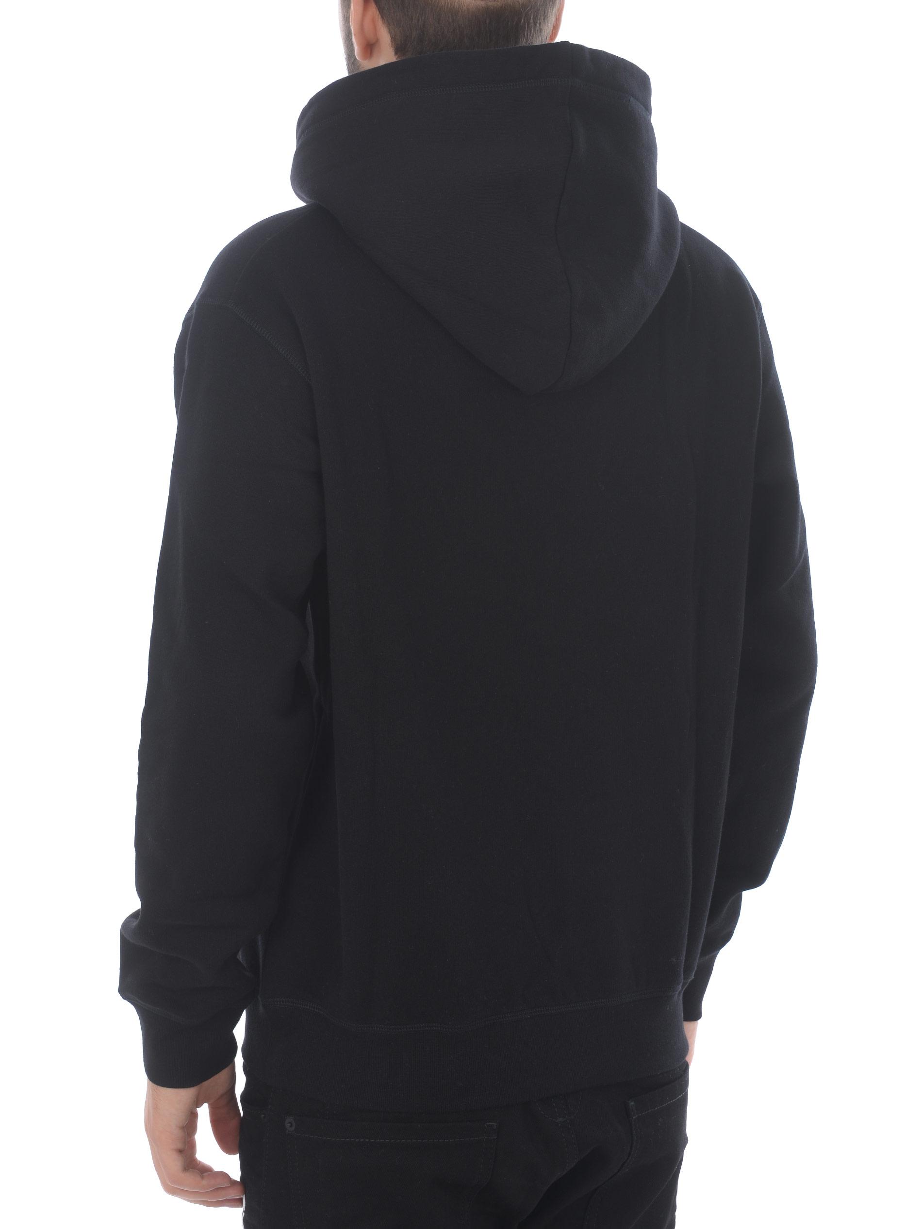 Dsquared2 sweatshirt in cotton. DSQUARED | 10000005 | S74GU0457S25475-900