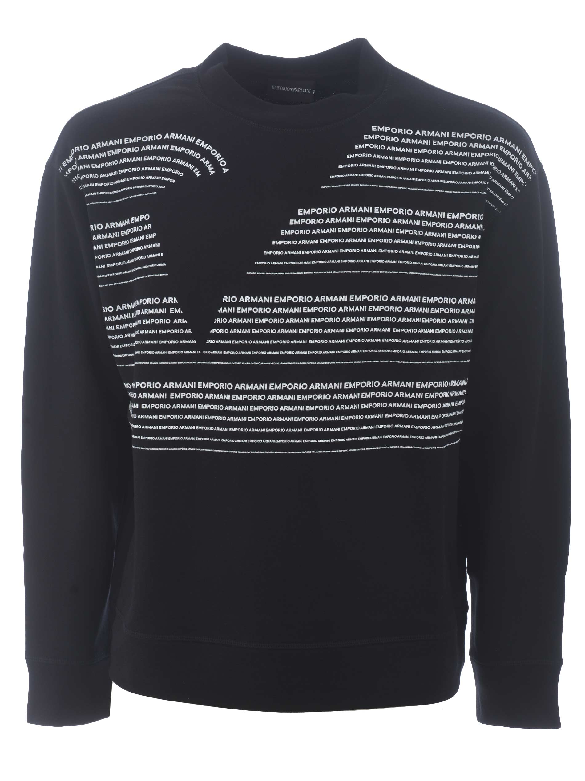 Emporio Armani sweatshirt in cotton blend