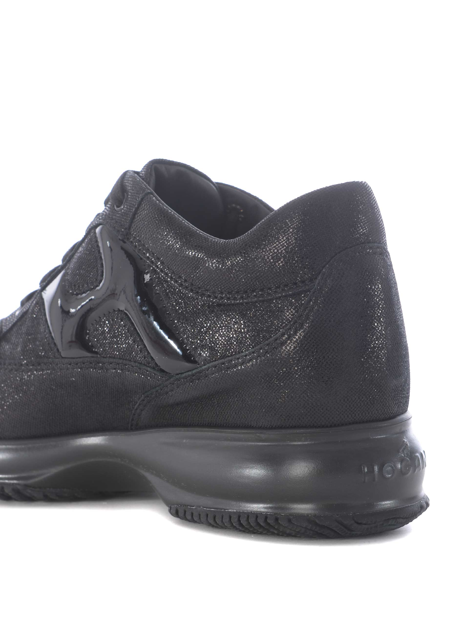 Sneakers donna Hogan Interactive in glitter - HOGAN - TufanoModa