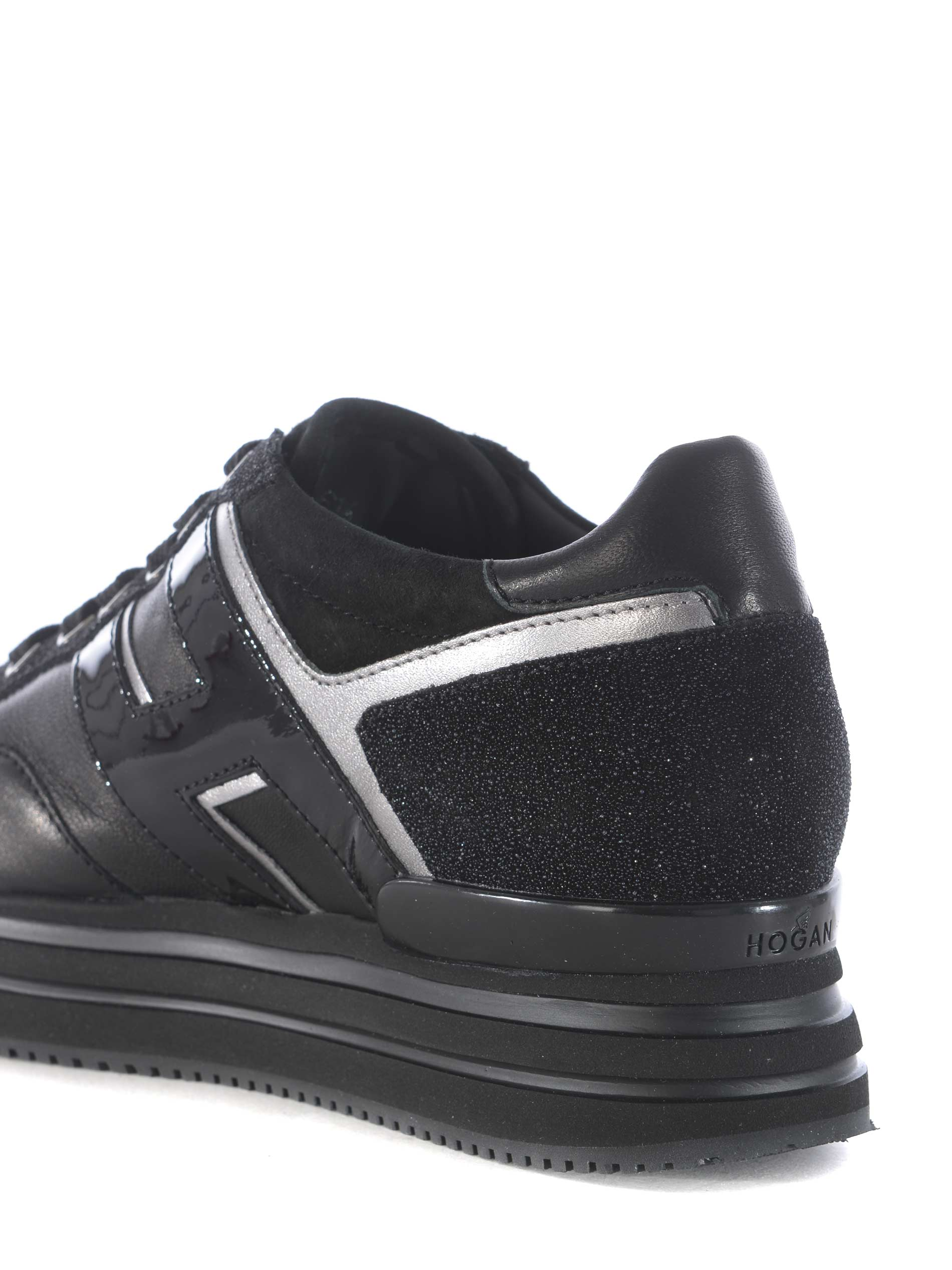 Sneakers donna Midi Platform H222 Hogan in pelle - HOGAN - TufanoModa