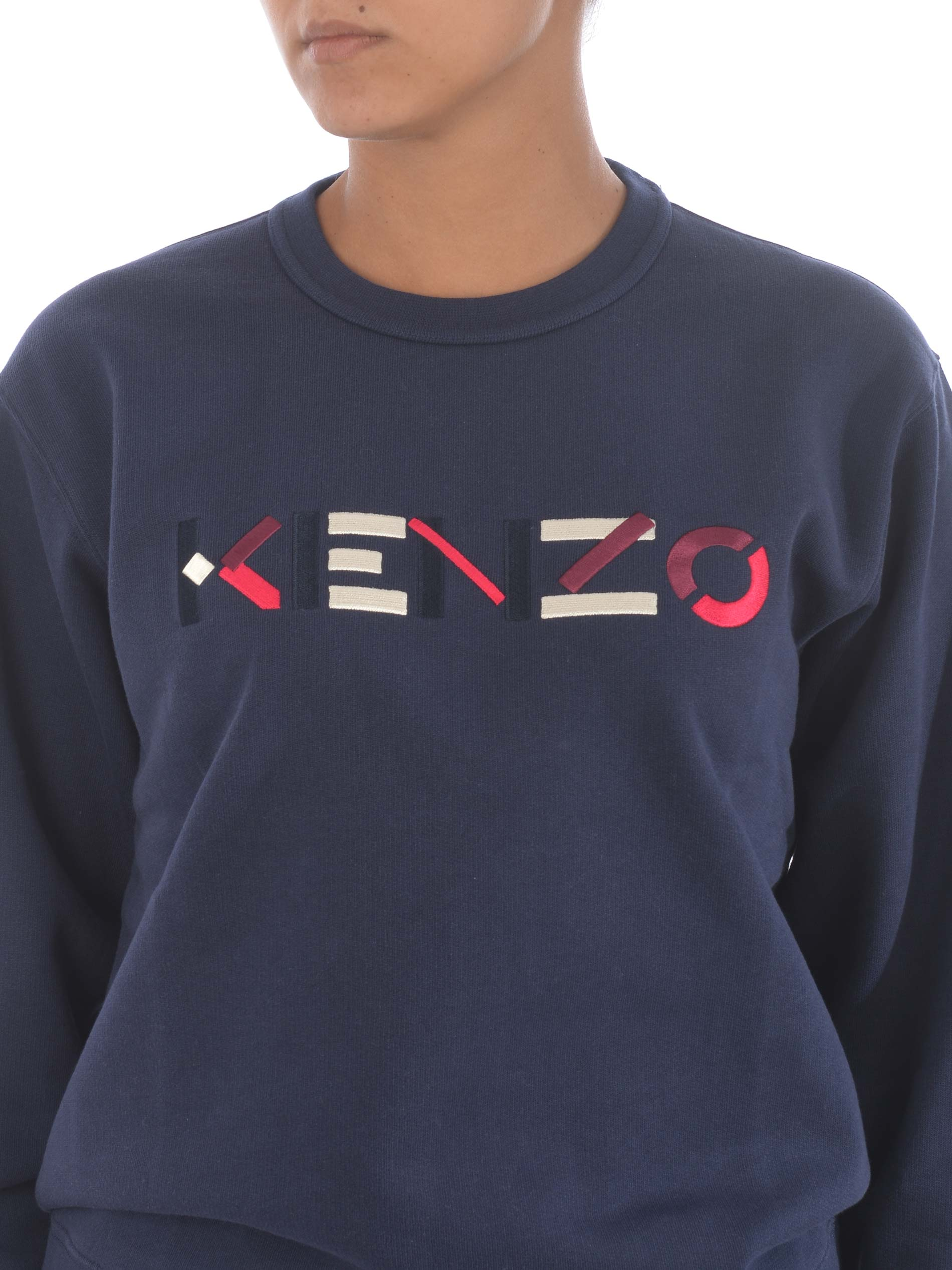 Felpa Kenzo logo KENZO | 10000005 | FA62SW8204MO76
