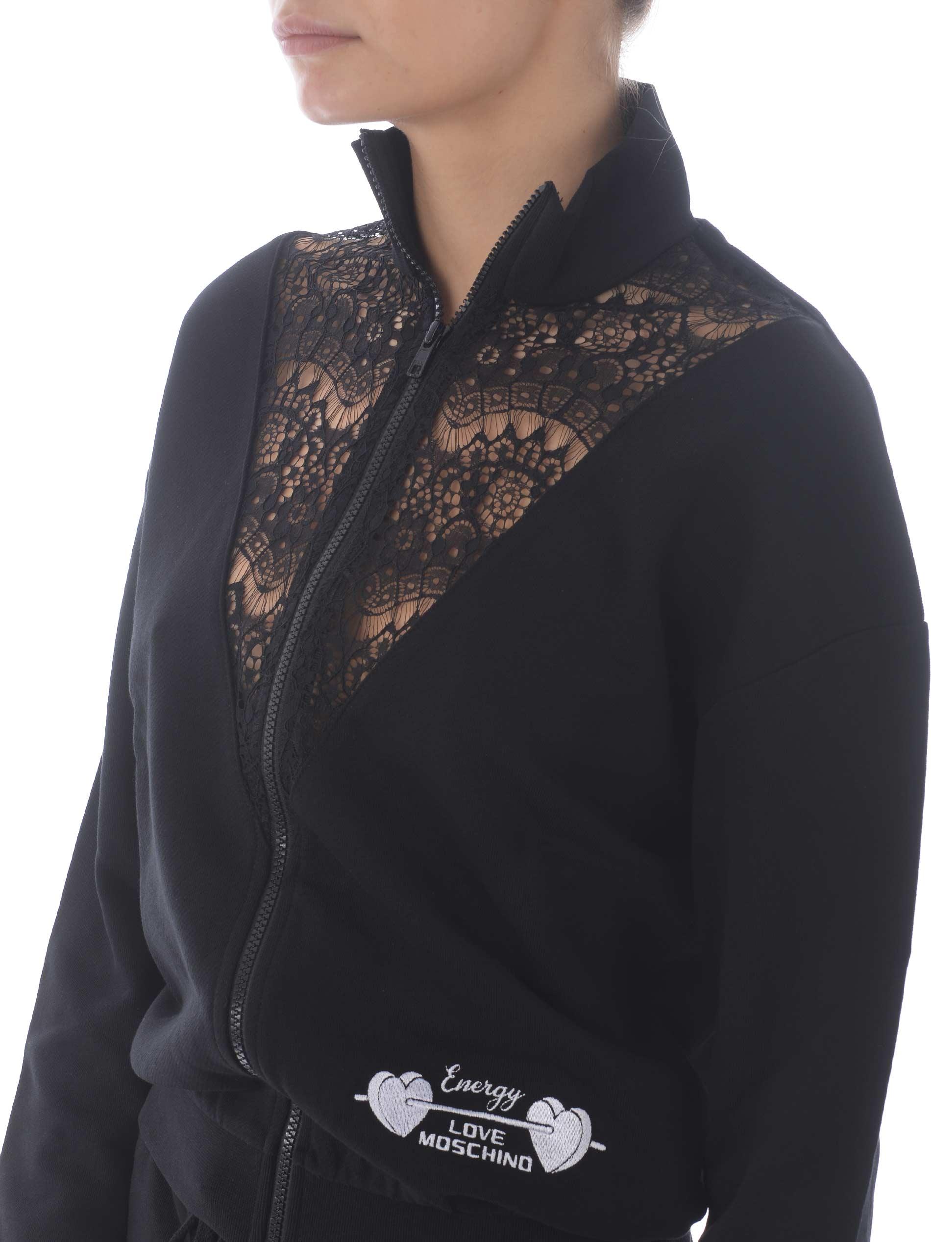 Love Moschino sweatshirt in stretch cotton MOSCHINO LOVE | 10000005 | W3392M4055-C74