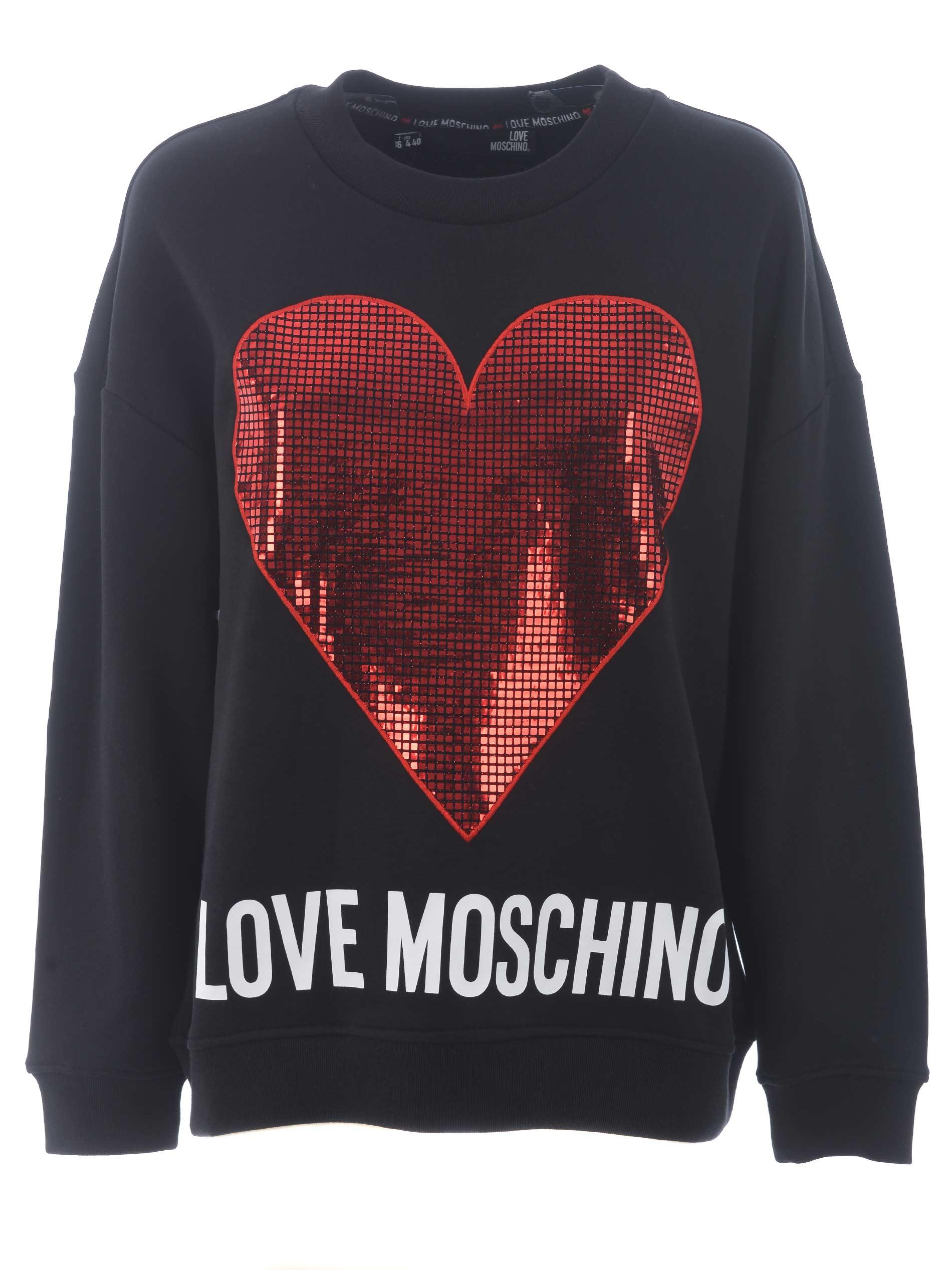 Love Moschino cotton sweatshirt
